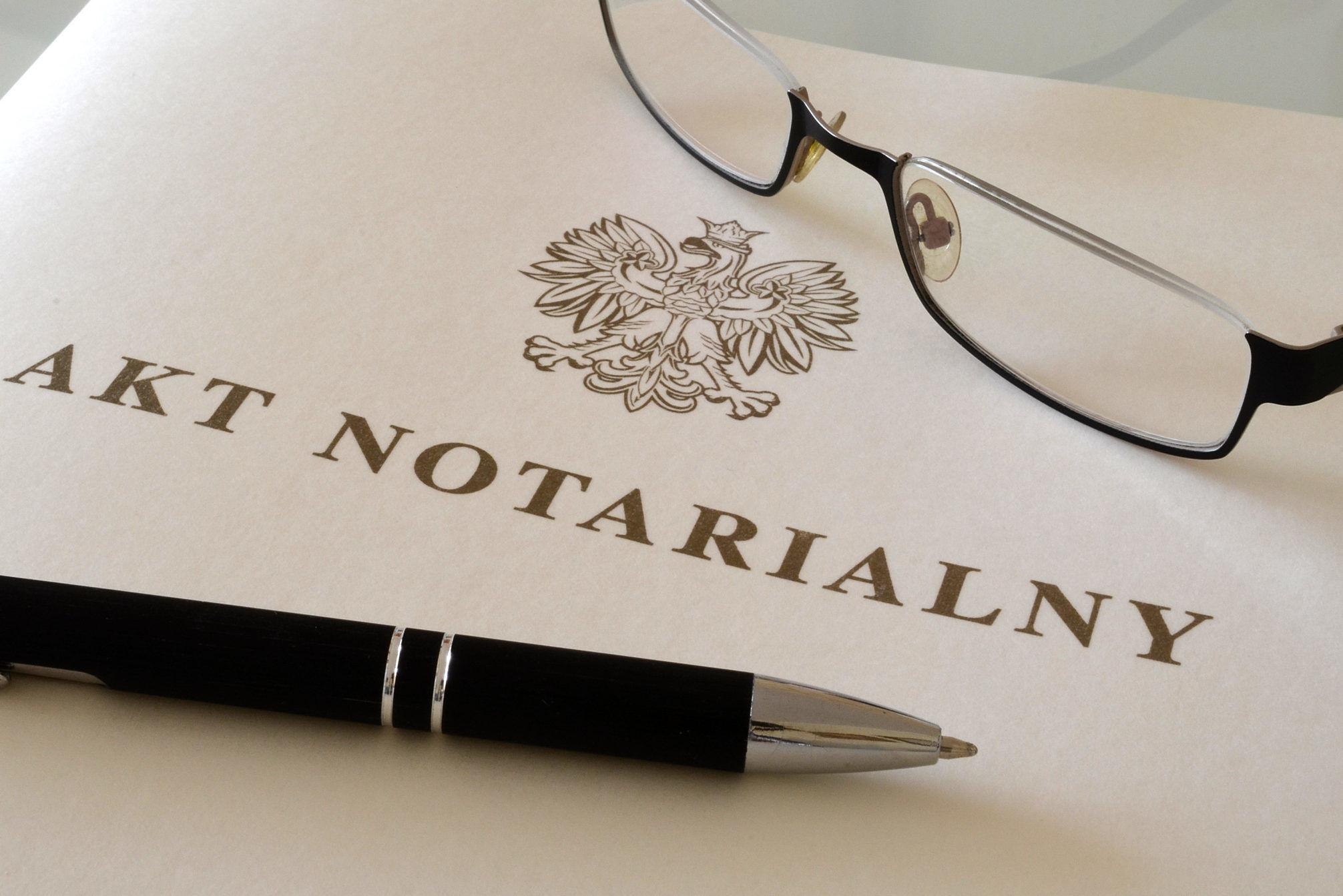 Ile kosztuje notariusz przy zakupie mieszkania od dewelopera?