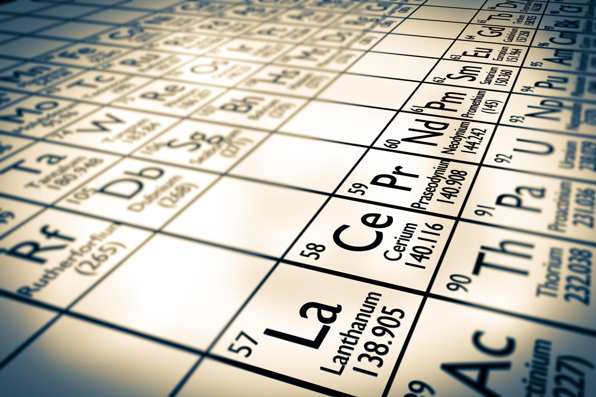 Metale ziem rzadkich jako inwestycja